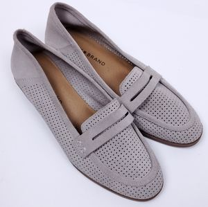 3/25$ Lucky Brand Suede Leather Loafer size 7M